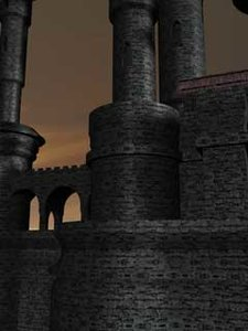 cinema4d fantasy castle