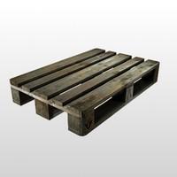 Wooden pallet (EuroPall)