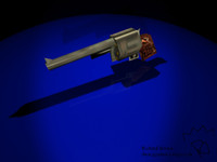 3ds max magnum pistol