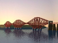 3ds firth forth railway bridge