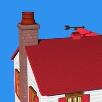 home windows door 3d 3ds