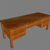 desk cherry wood max