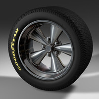 3ds max mag wheel