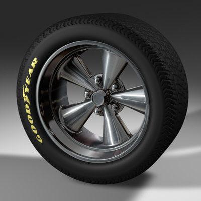 3ds max mag wheel