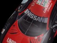 car nissan 3d model