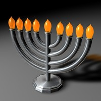 candle candlestick 3d c4d