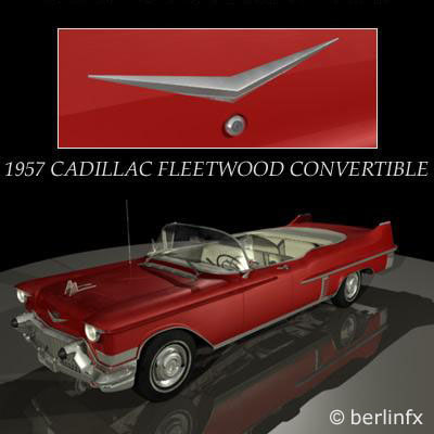 maya 1957 cadillac fleetwood convertible