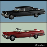 3d model cars cadillac fleetwood cadys