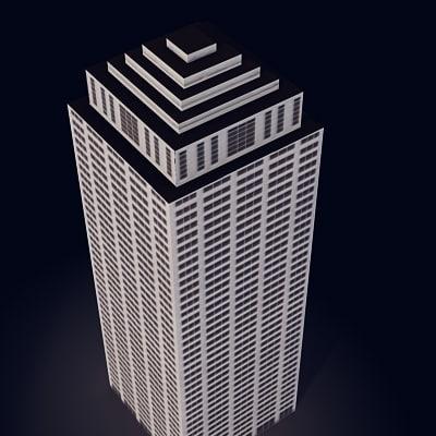 3dsmax building city