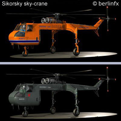 sikorsky military propeller 3d model