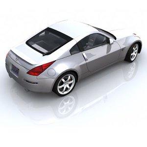 3d nissan 350z model