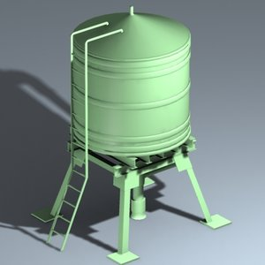 3ds water tower