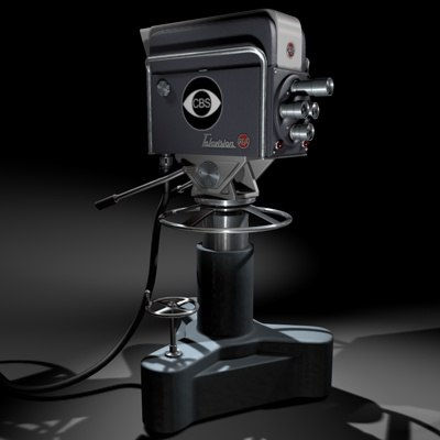 rca television camera 3d 3ds