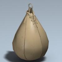 speedbag speed bag 3d 3ds