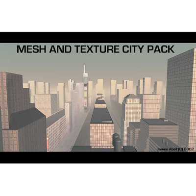 urban city pack 3d model
