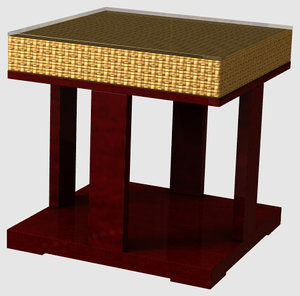 table chinese 3d lwo