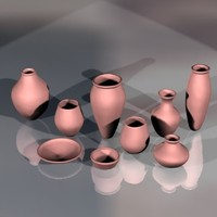 ancient pottery 3d model