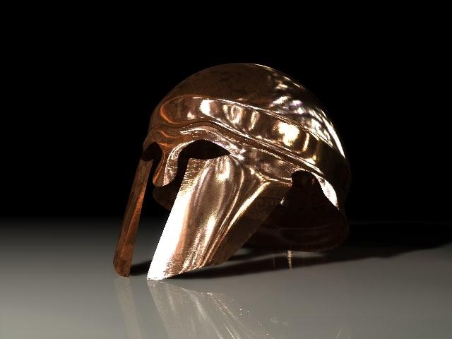 lwo helmet ancient greek