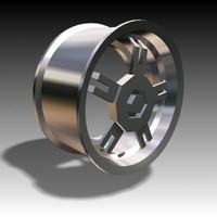 wheel hub cap 3d x