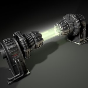 3d model of plasma generator