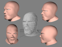 lightwave male head