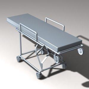 gurney 3d model