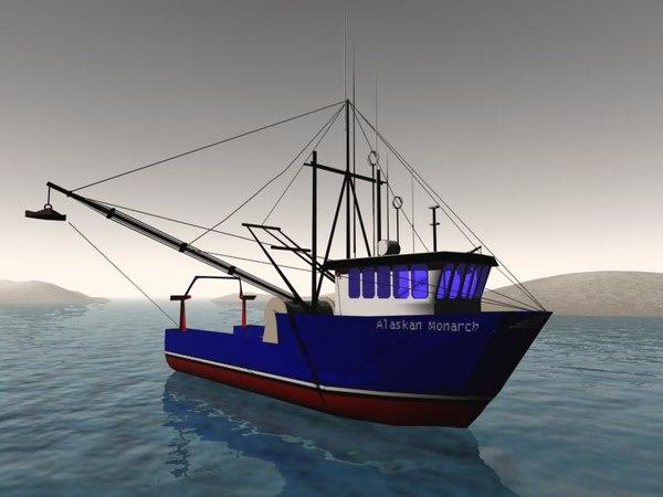 3d model vessel boat