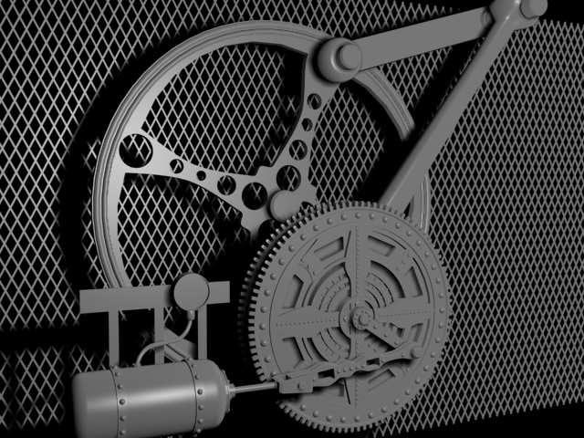 3ds max steam engine