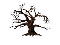 evil old tree 3d max
