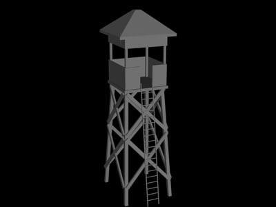 3d model tower