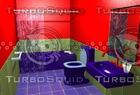 3ds max washroom