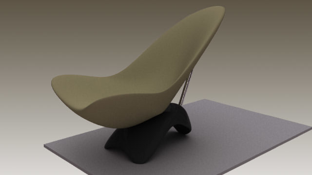chair s 3d max