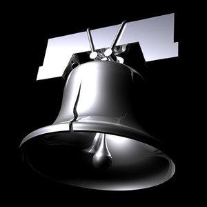 3d liberty bell