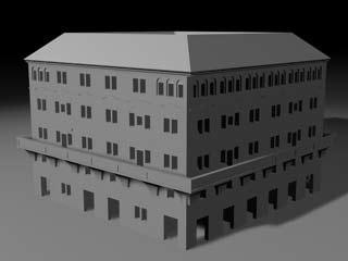 maya roman building