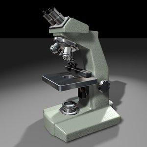 microscope 3d c4d