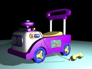 3d model s toy