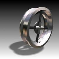 3d wheel hubcap alloy