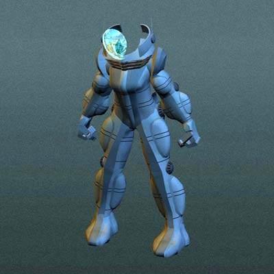 3ds max imagination robots