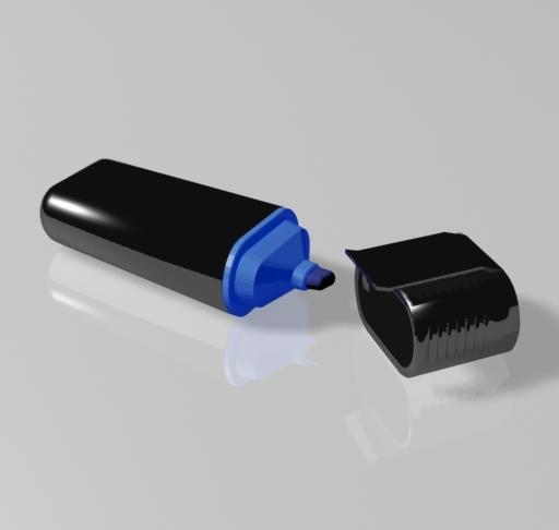3dsmax highlighter pen