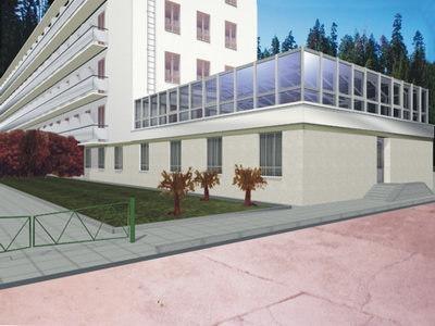 sanatorium 3d model