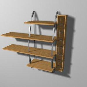 shelf 3d max