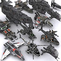 Sci-Fi Airspace collection