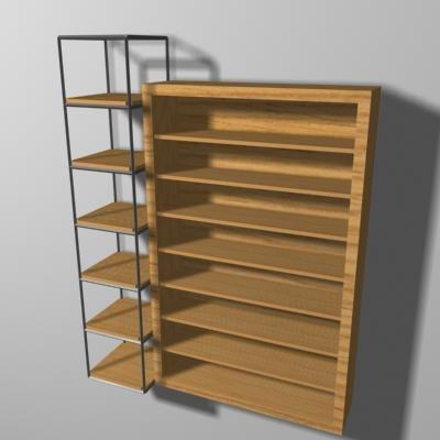 shelf rack x