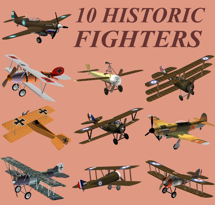 10 historic fighters 3ds
