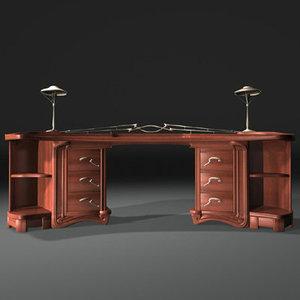 3ds nouveau desk van