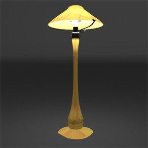 3d nouveau lamp model