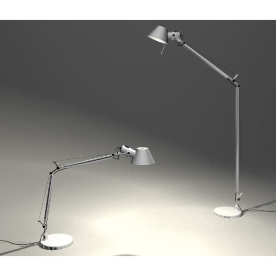 artemide tolomeo lamp 3d model