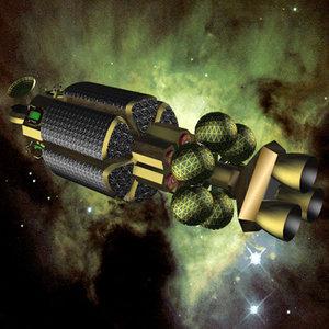 spaceship 3d 3ds