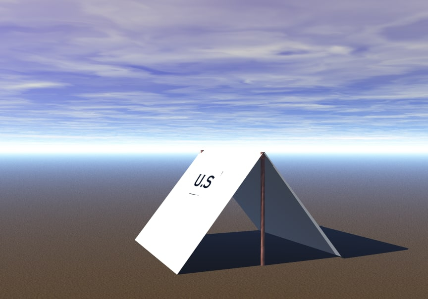 3ds civil war tent