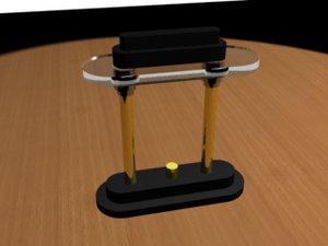 3ds max desk lamp
